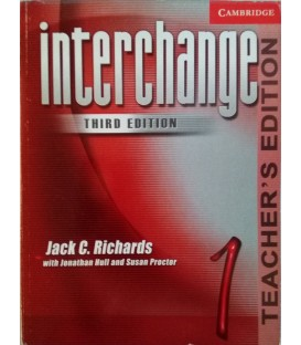 Interchange 1 Teacher's Book - 3rd Edition