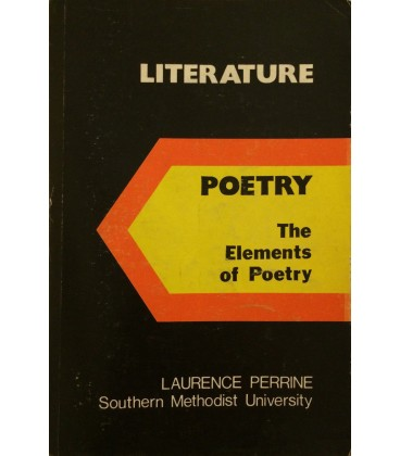 Literature   The Elements of Poetry