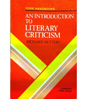 An Introduction to Literary Criticism
