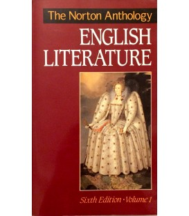 The Norton Anthology of English Literature Sixth Edition - 2 Volumes
